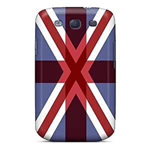 New QPMCGce5443YXLRl Britain Overlay Tpu Cover Case For Galaxy S3