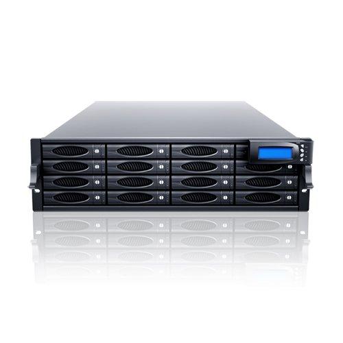 Sans Digital AccuSTOR 3U 16 Bay 6G SAS/SATA Dual Core Hardware RAID 5/6/50/60 Rackmount (AS316X6HP)