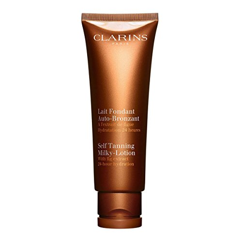 4.2 Ounce Self Tanner - Clarins Self-Tanning Milky Lotion - 4.2 Ounces