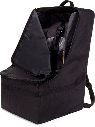 zohzo car seat travel bag adjustable padded backpack for import it all. Black Bedroom Furniture Sets. Home Design Ideas