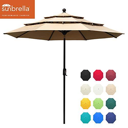 EliteShade Sunbrella 9Ft 3