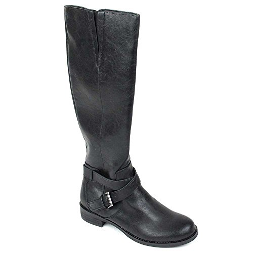 Kenneth Cole Reaction Womens Gwen Tall Riding Boots Black 71e0p8UjZ5