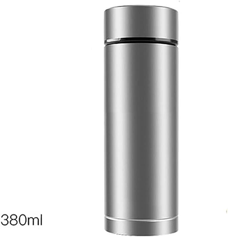FGKING Titanio Termo, a Prueba de Fugas Botella con Material Aislante de Agua, a Prueba de Fugas Botella con Material Aislante de Agua, vacío de la Botella Frasco de Agua, Caldera al Aire Libre
