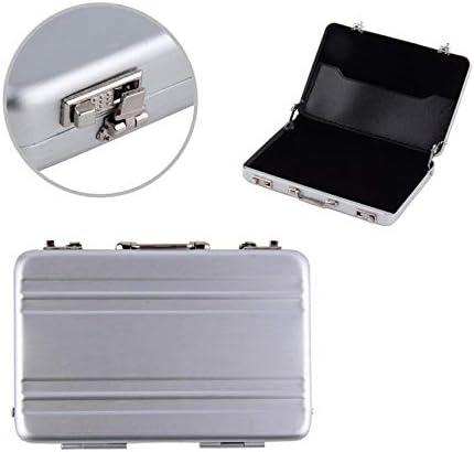 fghdf K/ühle 1pc Aluminiumaktenkoffer Visitenkarte Kreditkarteninhaber Fall Box