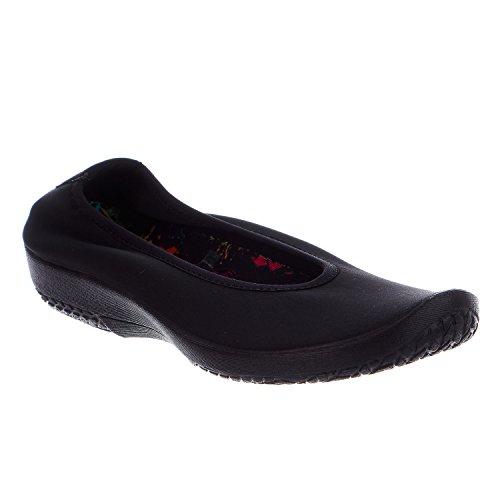 Black Womens Shoes Textile Arcopedico Lolita gvx8aaAw