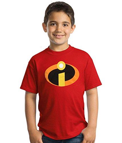 The Incredibles Symbol Youth T-Shirt-Youth Medium ()