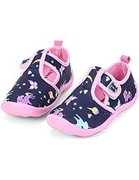 Boys Girls Cute Aquatic Water Shoes | Rainbow, Dinasour, Unicorn, Shark | Toddler/Little Kid