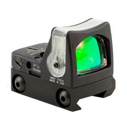 Trijicon RM08A-33 RMR 12.9 MOA Dual-Illuminated Amber Triangle Sight with RM33 Low Picatinny Mount (Trijicon Ruggedized Miniature Reflex Low Picatinny Rail Mount)