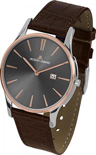 Jacques Lemans London 1-1936E Mens Wristwatch Flat & light