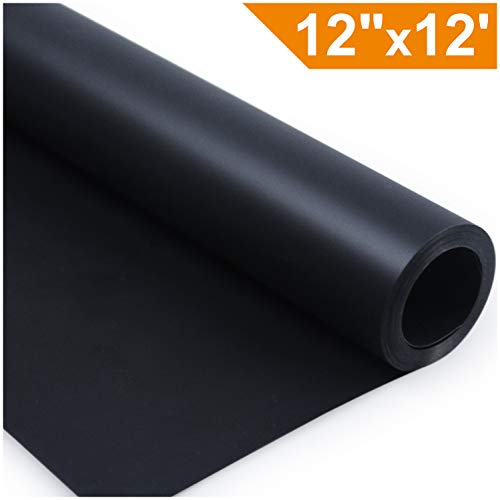 ARHIKY Heat Transfer Vinyl HTV for T-Shirts 12 Inches by 12 Feet Rolls -
