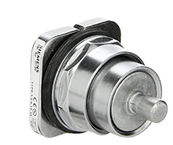 Siemens 52PB9 Heavy Duty PushButton, Water and Oil Tight, Operator Only, Water and Oil Tight