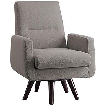 Amazon Com Porter Designs Eloise Swivel Accent Chair
