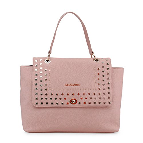 Byblos Genuine Pink Bag Women Shoulder Blu Designer Rrp fqp6dXd