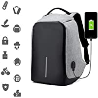 MOCHILA NOTEBOOK ANTI FURTO ROUBO BOLSA COM USB IMPERMEAVEL