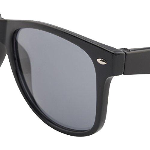 East Le219 Schwarz Schwarz Multicolor Lower gafas Hombre sol de dfBwpdxAq
