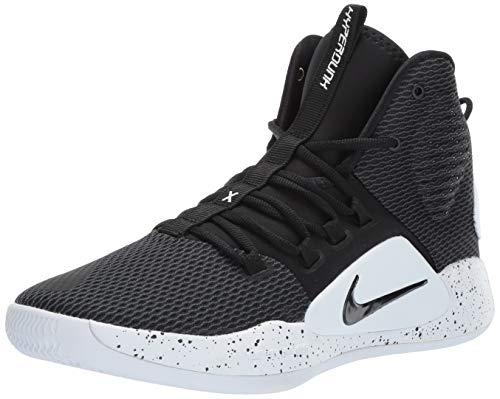 Nike Men's Hyperdunk X Basketball Shoe Black/White Size 9 M US