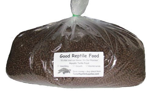 Aquatic Turtle Food Growth 6 Lbs Bulk for Turtles From 2-6 Inches in Size.
