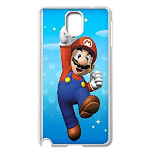 Samsung Galaxy Note 3 Cell Phone Case White Super Mario 001 Basic Cell Phone Carrying Cases LV_6038980