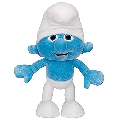 Smurfs Basic Plush Wave #1 Clumsy Basic Plush: Toys & Games