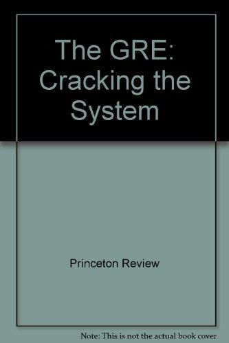 Princeton Review: GRE 1989