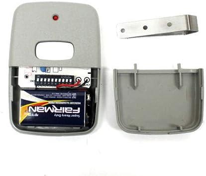 10 Digit Garage and Gate Door Opener Visor Remote Control Transmitter