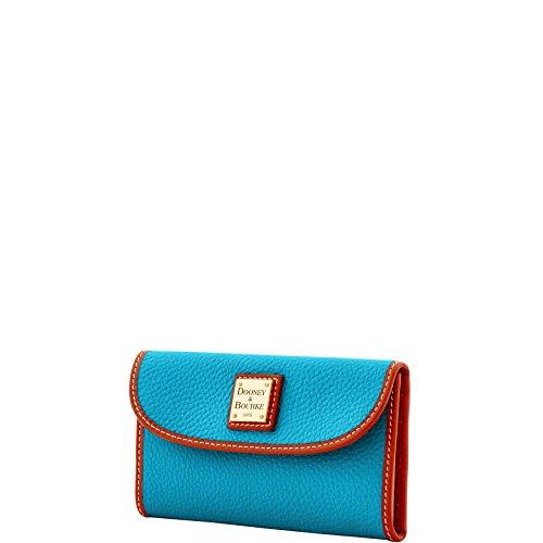Turquoise Bourke Dooney amp; Clutch Grain Continental Wallet Pebble vxw1zTq