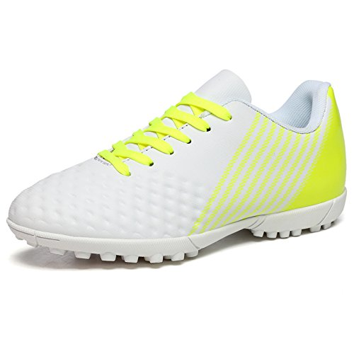 XING Lin Fußball Schuhe New Gummi Broken Nägel Kinder Training Schuhe Jungen und Mädchen Adult Kunstrasen Fußball Schuhe weiß