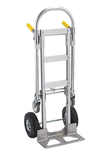 Wesco-220000-Spartan-Economy-Aluminum-2-in-1-Jr-Truck-Pneumatic-Wheels-1000-lb-Load-Capacity-22-Width-x-52-Height-x-19-Depth