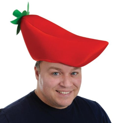 Plush Chili Pepper Hat Case Pack 48 (Chili Pepper Hat)