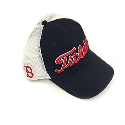 Titleist Twill Mesh MLB Boston Red Sox Hat Snap Back