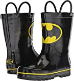 Favorite Characters Baby Boy's 1BMF505 Batman¿ Rain Boot (Toddler/Little Kid) Black 7 M US Toddler
