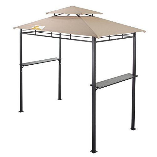 (Palm Springs Deluxe 8FT Double-Tier Barbecue Canopy)