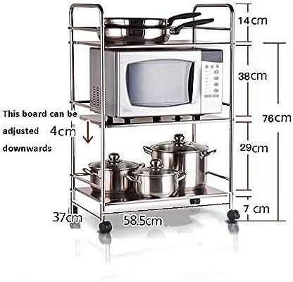 Gfyhfgf - Soporte de cocina para horno o microondas: Amazon.es: Bricolaje y herramientas