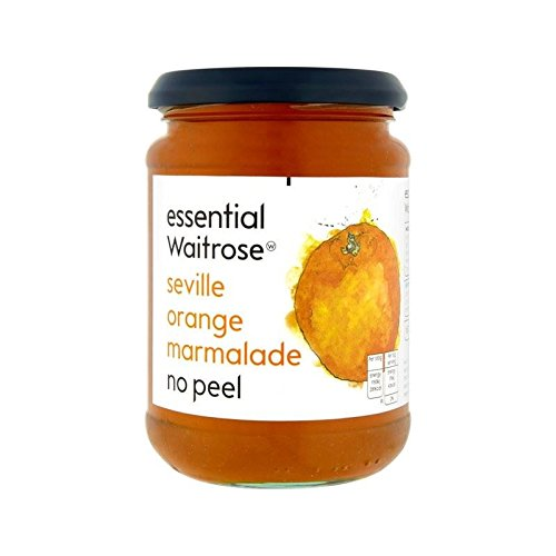 Orange Marmalade No-Peel essential Waitrose 454g - Pack of 4
