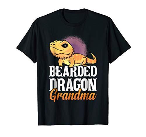 Bearded Dragon Grandma - Lizard Lovers Funny T Shirt Women -