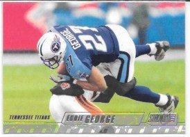 - Eddie George 2002 Stadium Club Tennessee Titans Card #92