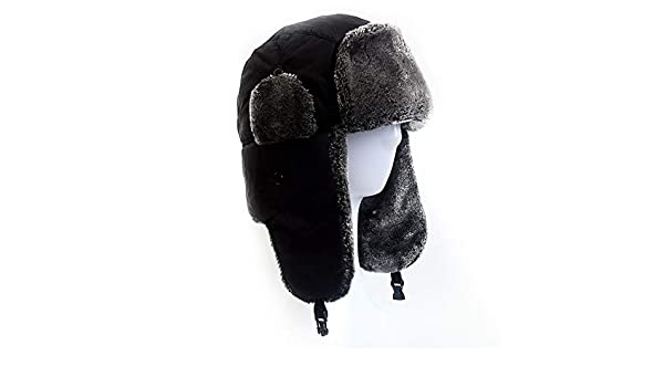 Amazon.com: Culturemart Warm Autumn Snow Ear-Flap Bomber Hats Womens Winter Hat Gorras para Mujer Black Russian Hat with Ear Flaps: Kitchen & Dining
