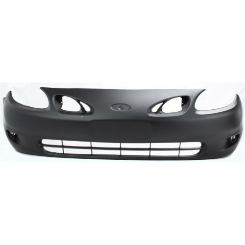 Front Bumper Cover Compatible with FORD ESCORT 1998-2002 Primed ZX2 Model Coupe (Escort Ford Front Bumper Cover)