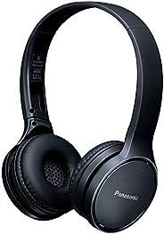 PANASONIC RP-HF410B Audífono de Diadema Bluetooth, 24hrs de reproducción inalámbrica, control inteligente por voz, manos lib