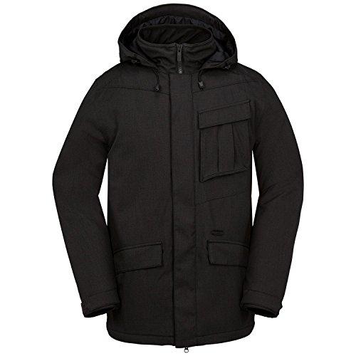 Volcom Men's Mails Insulated Jacket, Black, Large