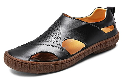 Mens Closed Toe Slip On Loafers Sandals