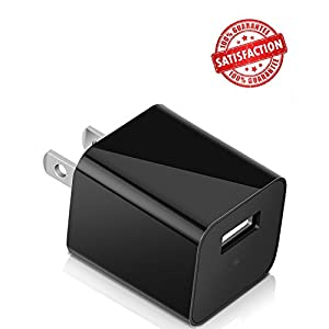 Spy Camera Motion Detection Charger Camera 32GB included - 1080P HD Mini USB Security Wall Charger Hidden Spy Camera / Nanny Spy Camera Adapter Premium Set from Tusionwin[Updated Version]