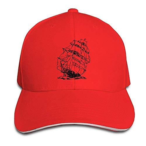 JHDHVRFRr Hat A Pirate Boat Denim Skull Cap Cowboy Cowgirl Sport Hats for Men Women