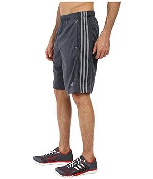 Adidas Men's Essentials 3-stripe Shorts, Dark Onixtech Grey, Medium 4