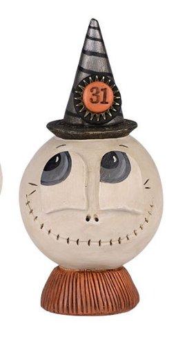 Pumpkinseeds punked Skelly Figurine -