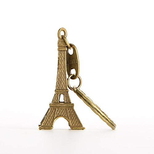 Decorative Metal Craft - 1pcs 13cm Household Metal Crafts Bronze Paris Eiffel Tower Figurine Statue Vintage Alloy Model - Paper Crafts Metal Craft Decorative Bags Sticker