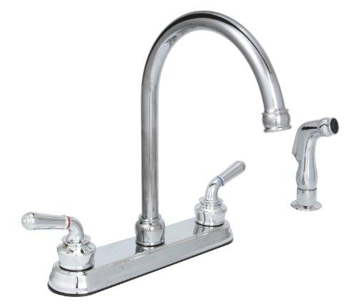 huntington brass kitchen faucet - 5