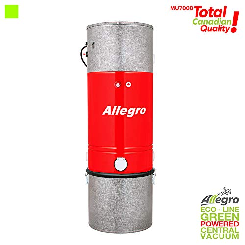 Allegro Top Of The Line MU7000 Zenith 15,000 Square Foot Central Vacuum All Steel Power Unit ** Life-Time Warranty