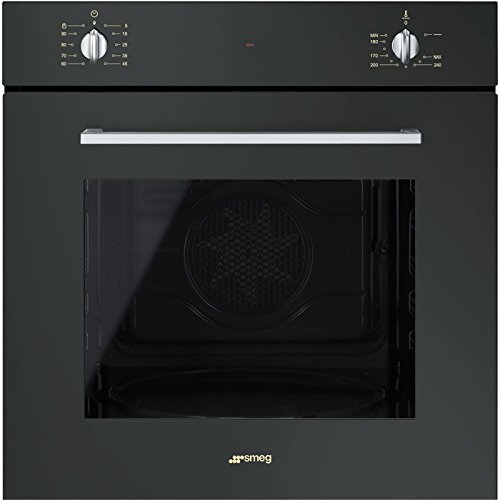 Smeg SF420GN Forno a gas naturale 66L A Nero: Amazon.it: Grandi ...