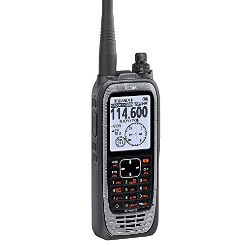 Icom IC-A25N VHF Airband Transceiver (NAV & COM channels)